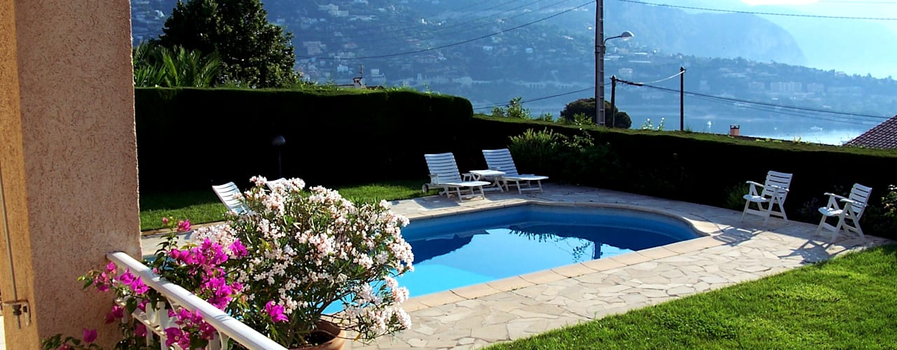 Piscinas de estilo mediterráneo de italiagiardini Mediterráneo
