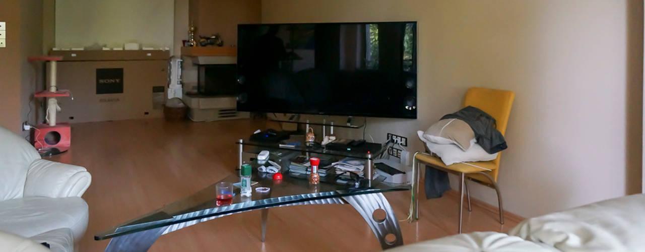 Home staging apartamentu - Warszawa-Włochy od Home Staging Studio AP Nowoczesny