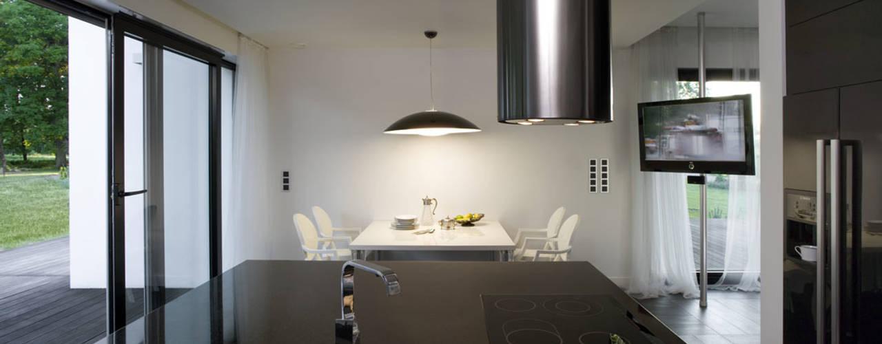 Cocinas de estilo  por Architekci Łosiak_Siwiak