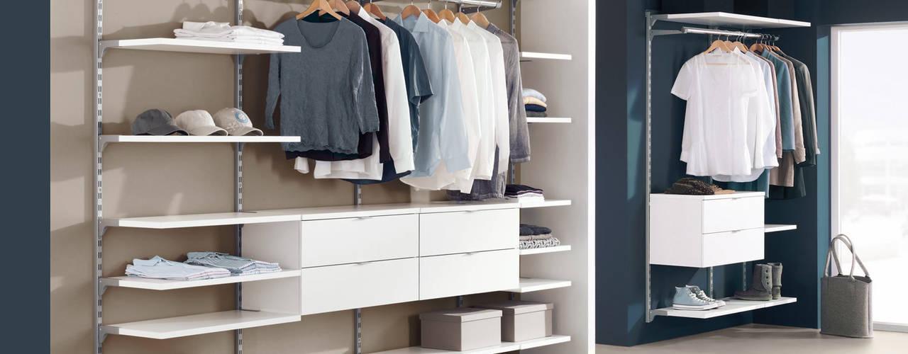 غرفة الملابس تنفيذ Regalraum GmbH, حداثي