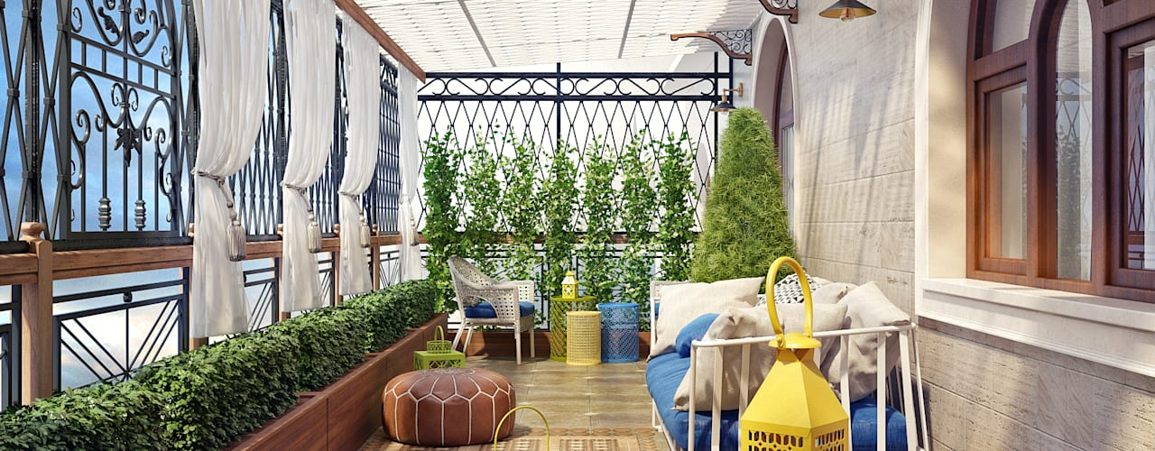 Terraços  por Sweet Home Design,