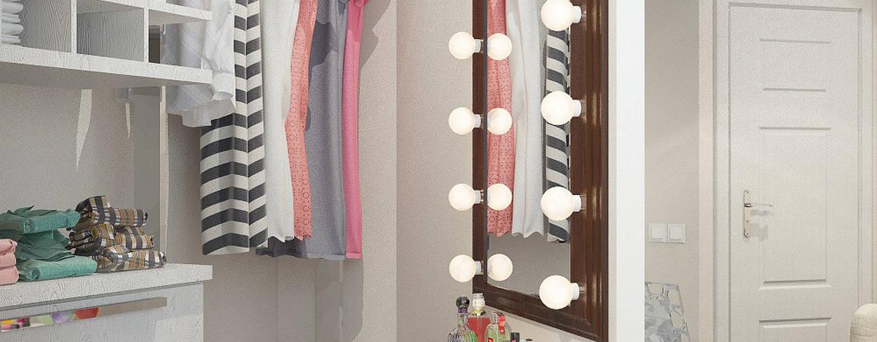 Projekty,  Garderoba zaprojektowane przez Reroom