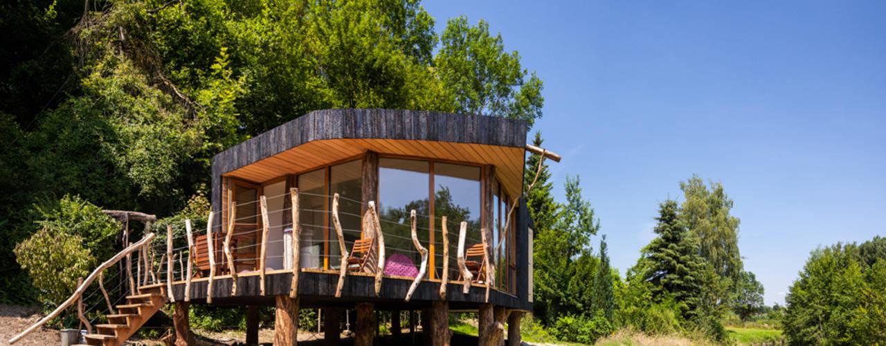 Modern Houses by Zwarthout Shou Sugi Ban Modern