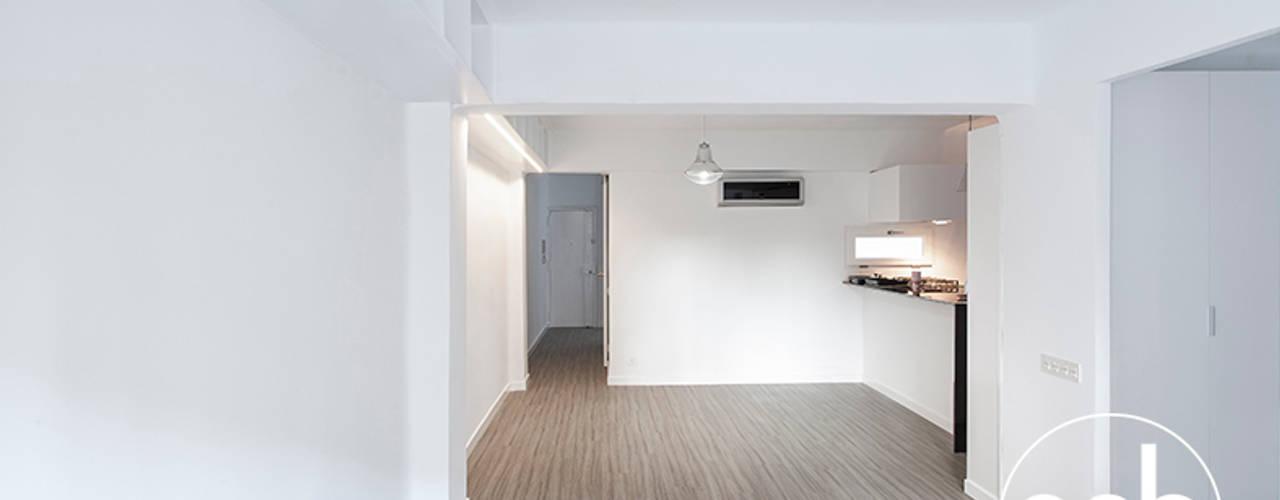 Salas de estar minimalistas por osb arquitectos Minimalista
