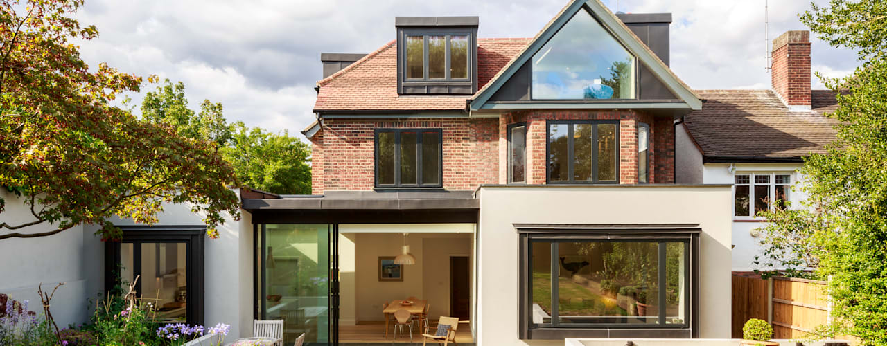 Muswell Hill House 1, London N10:  Houses by Jones Associates  Architects