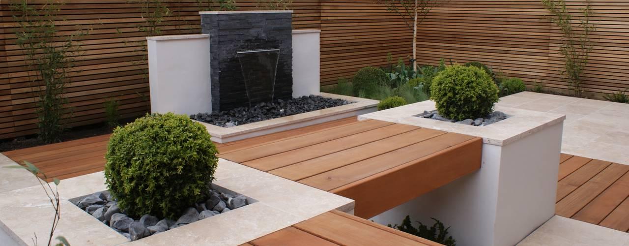 現代  by Hannah Collins Garden Design, 現代風