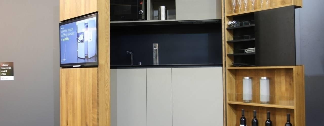 Pop-up kitchen PIA - Wood de Dizzconcept Moderno