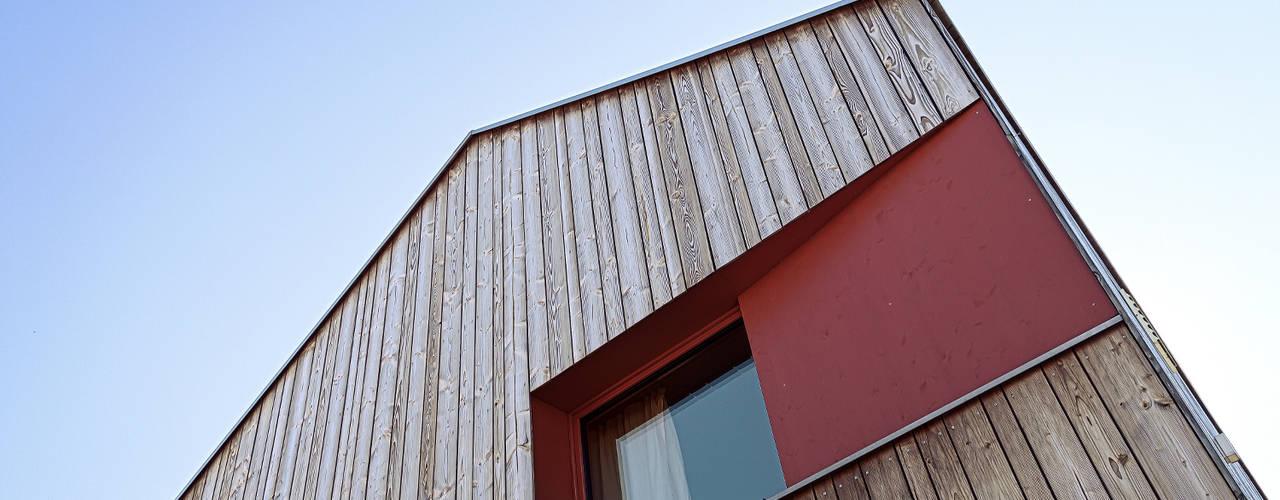 Projekty,  Domy zaprojektowane przez ArchitekturWerkstatt Vallentin GmbH
