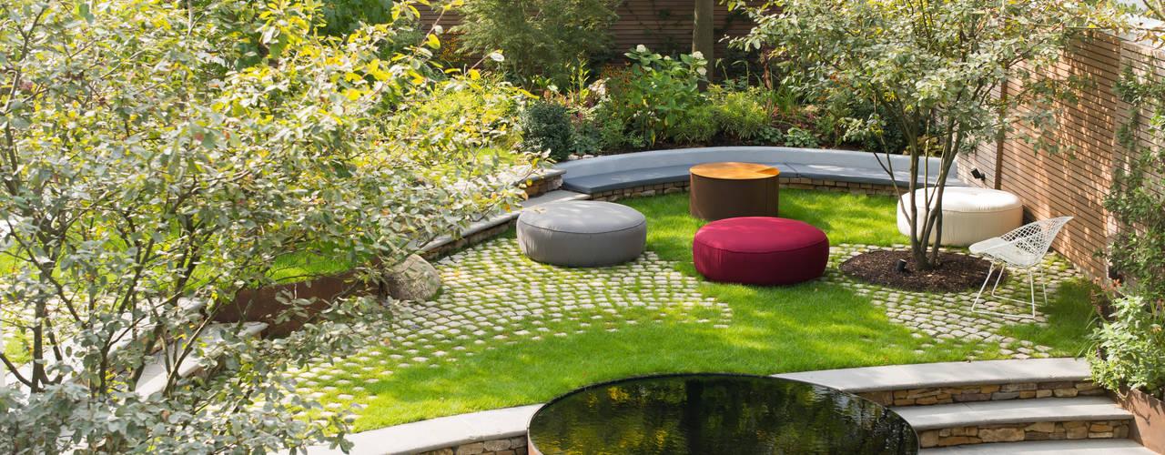 London Garden Chelsea Nowoczesny ogród od Bartholomew Landscaping Nowoczesny