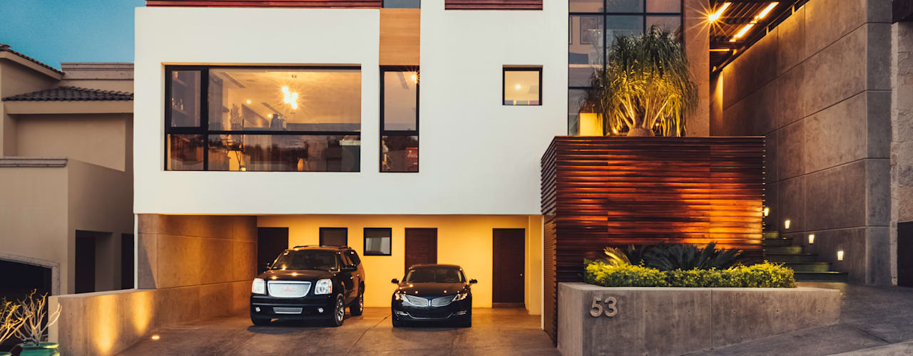 منازل تنفيذ Imativa Arquitectos , تبسيطي