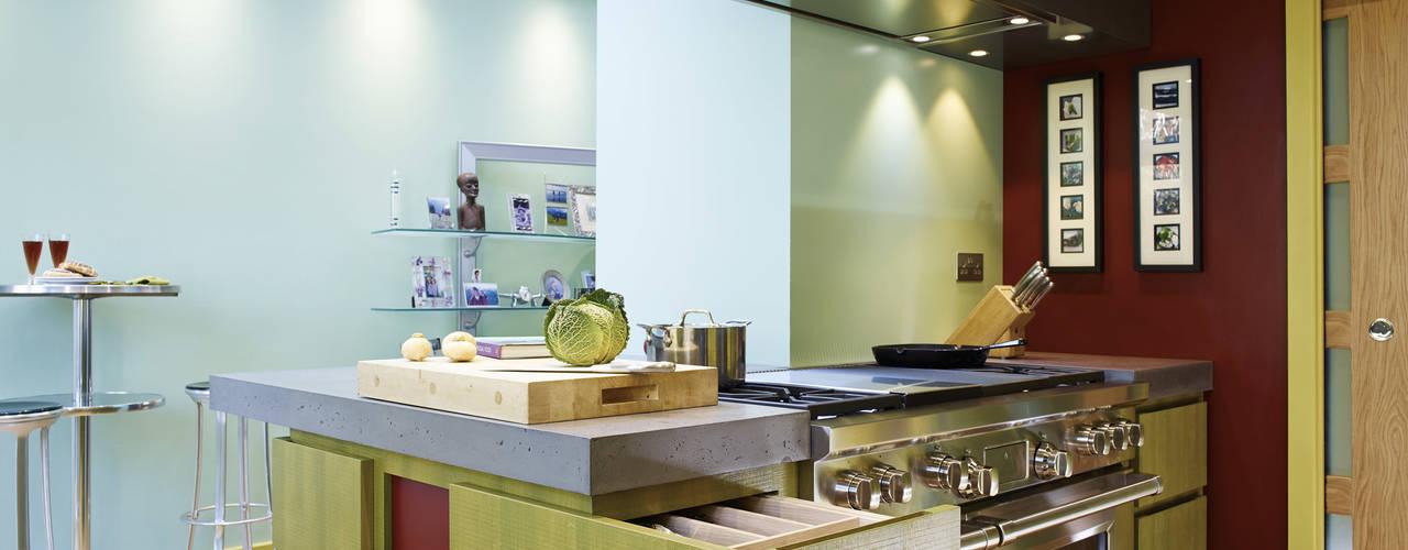 Weltje Road Cozinhas modernas por Concrete LCDA Moderno