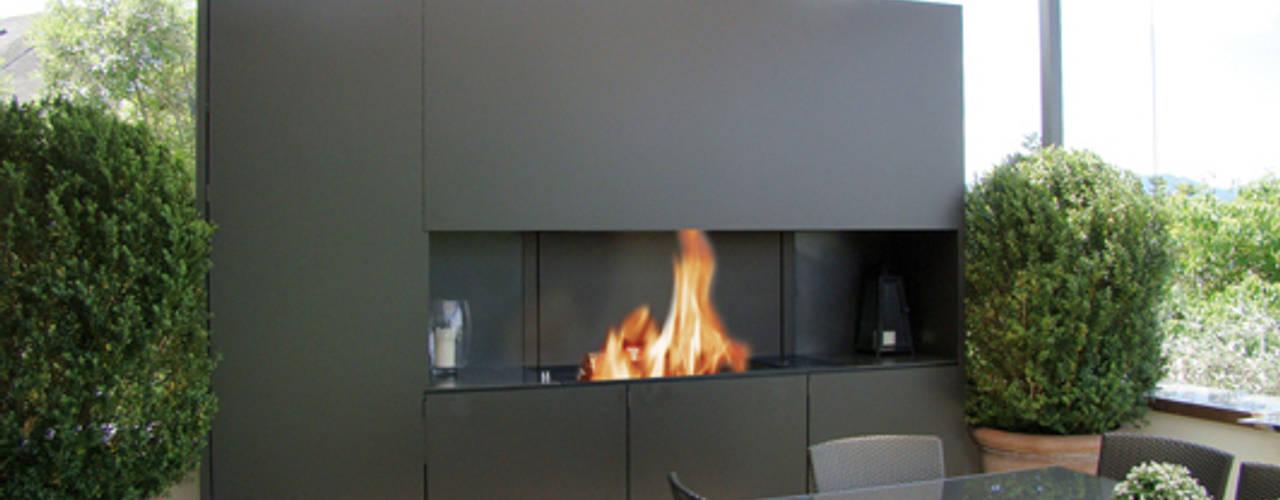 Gartenfeuerstellen: modern  von Wirth&Schmid AG,Modern