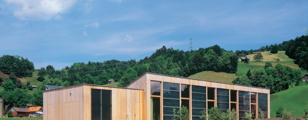 Casas de estilo  por Dietrich Schwarz Architekten AG, Minimalista