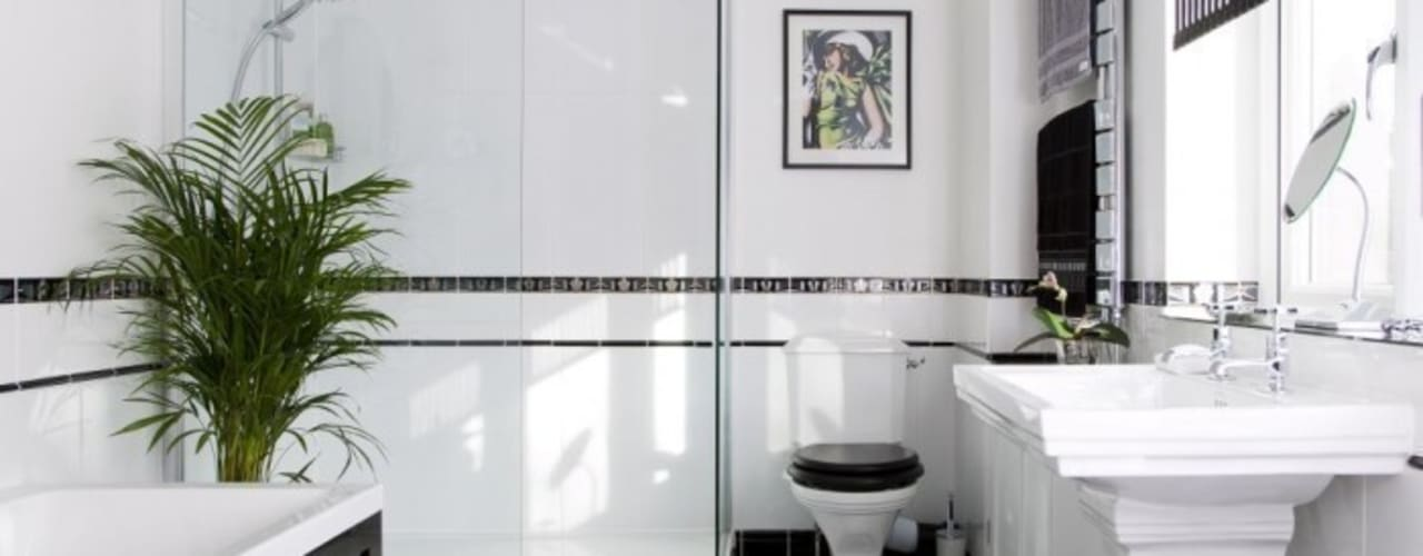 Scandinavian style bathroom by Tadilat Şirketleri Scandinavian