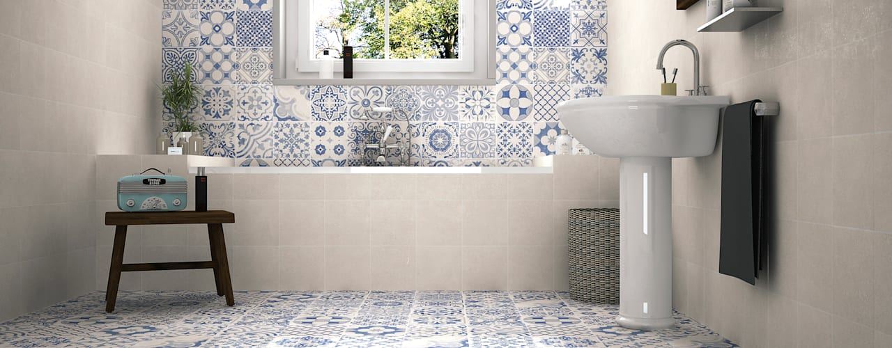 Bathroom by Gama Ceramica y Baño , Modern