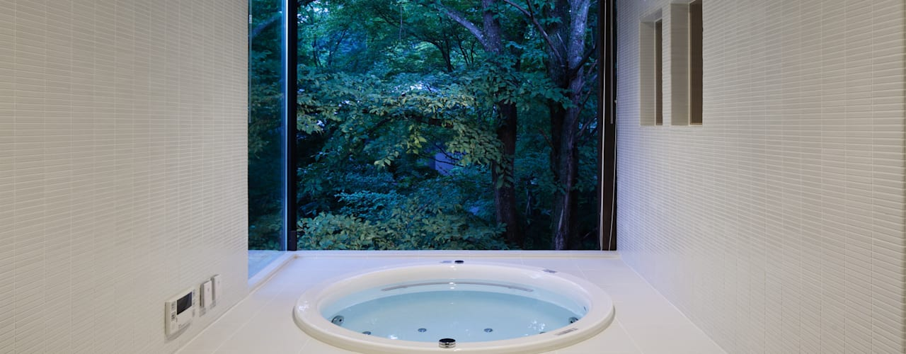 Nowoczesna łazienka od atelier137 ARCHITECTURAL DESIGN OFFICE Nowoczesny