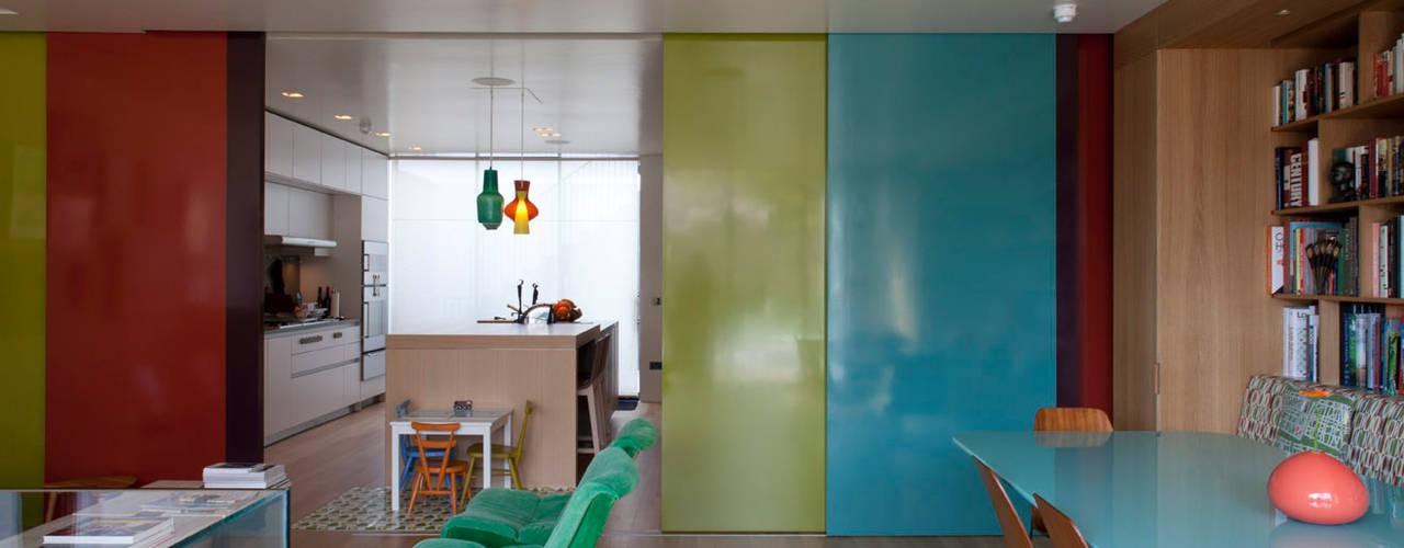 West London house de Viewport Studio Moderno