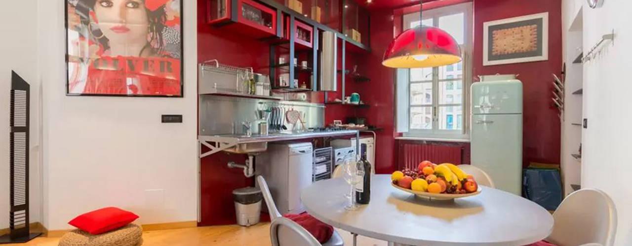 Loft Turin Simona Garufi Cocinas de estilo industrial