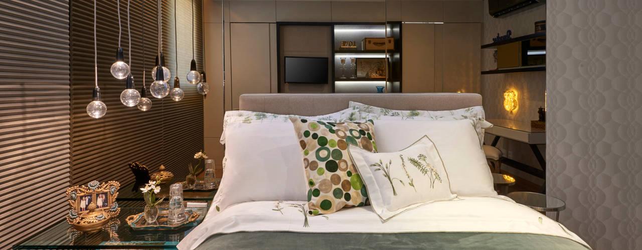 غرفة نوم تنفيذ Gláucia Britto