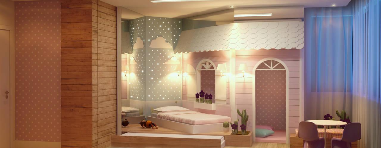Детская комната в стиле модерн от CASA DE PROJETOS Модерн