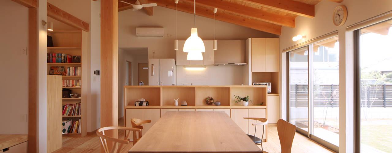 ห้องทานข้าว โดย 青木昌則建築研究所, เอเชียน