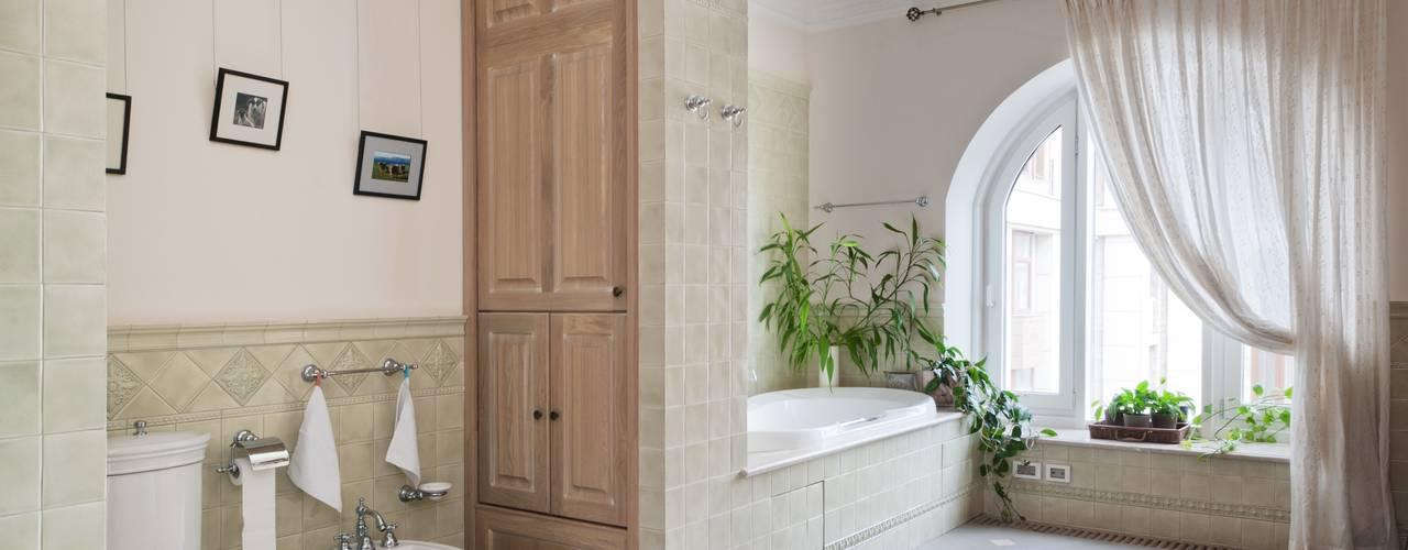 Светлая квартира Ванная комната в скандинавском стиле от ANIMA Скандинавский