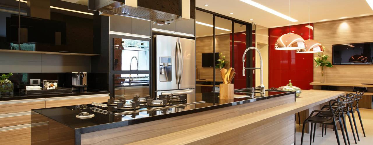 مطبخ تنفيذ Arquitetura e Interior