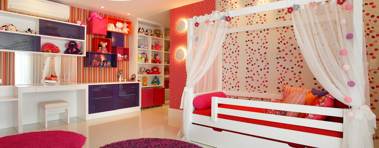 غرفة الاطفال تنفيذ Arquitetura e Interior, حداثي