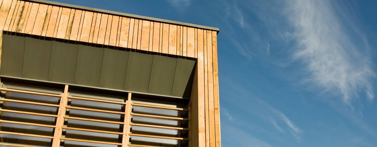 0801 Casas modernas de Gavin Langford Architects Moderno