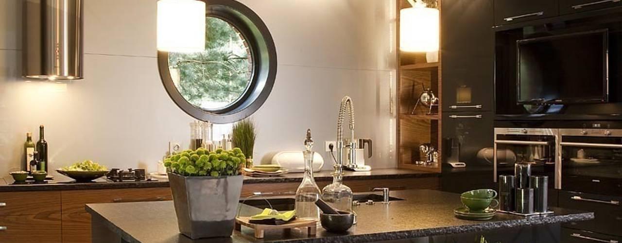 Cocinas de estilo industrial de RAJEK Projektowanie Wnętrz Industrial