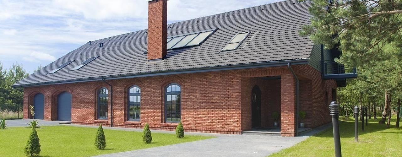 Industriale Häuser Von RAJEK Projektowanie Wnętrz