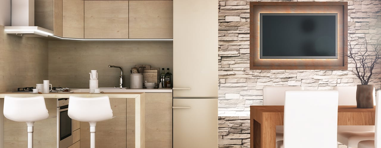 Cocinas de estilo rústico de Architetto Luigia Pace Rústico