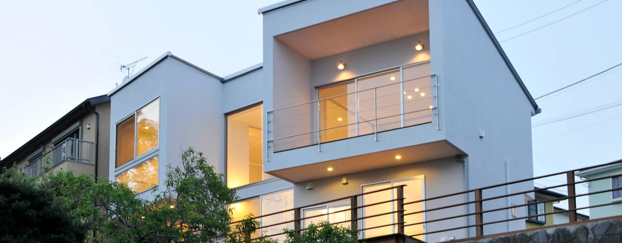 ディアーキテクト設計事務所 모던스타일 주택