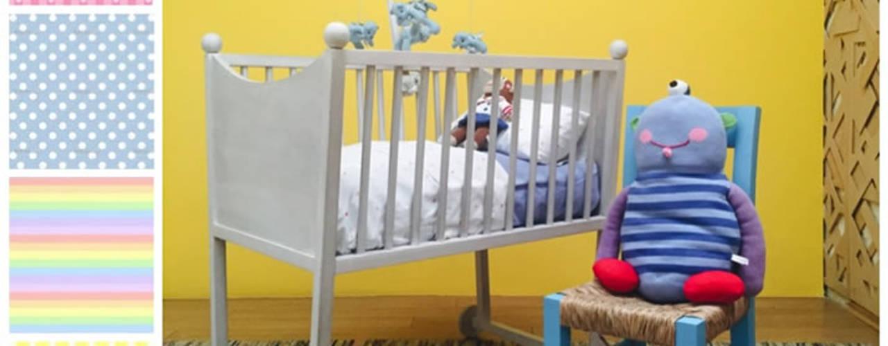MARIANGEL COGHLAN Dormitorios infantiles de estilo moderno Madera Acabado en madera