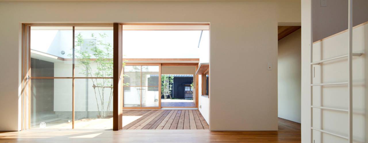 高浜の家/通り土間の先に中庭が広がる住まい 北欧デザインの 子供部屋 の 松原建築計画 一級建築士事務所 / Matsubara Architect Design Office 北欧