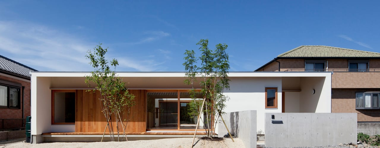 Casas de estilo escandinavo de 松原建築計画 一級建築士事務所 / Matsubara Architect Design Office Escandinavo
