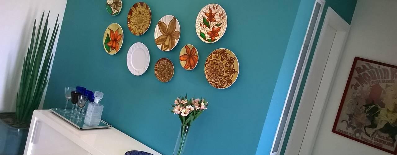 Dining room by Fabio Pantaleão Arquitetura+Interiores