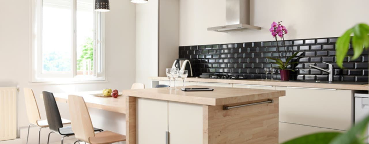 Cocinas modernas: Ideas, imágenes y decoración de Marion Lanoë Architecte d'Intérieur Moderno