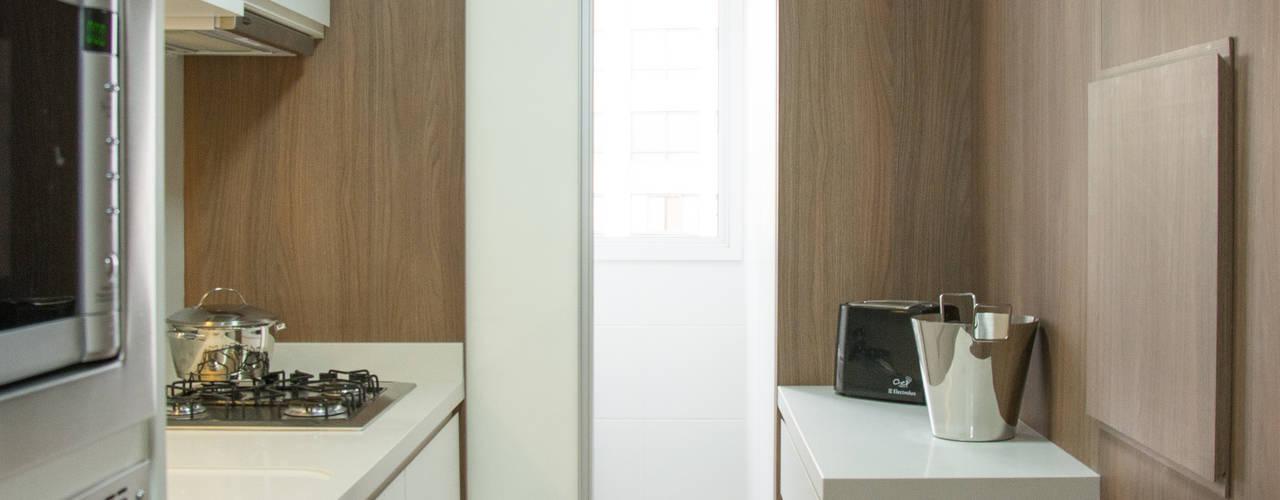 Bibiana Menegaz - Arquitetura de Atmosfera Moderne keukens