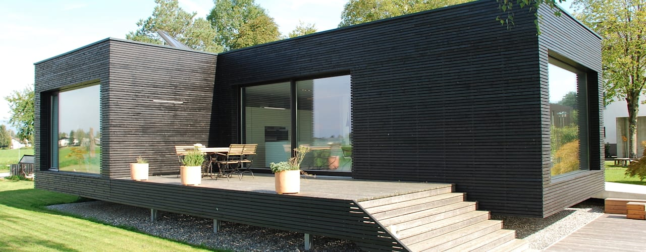 Casas modernas: Ideas, imágenes y decoración de schroetter-lenzi Architekten Moderno