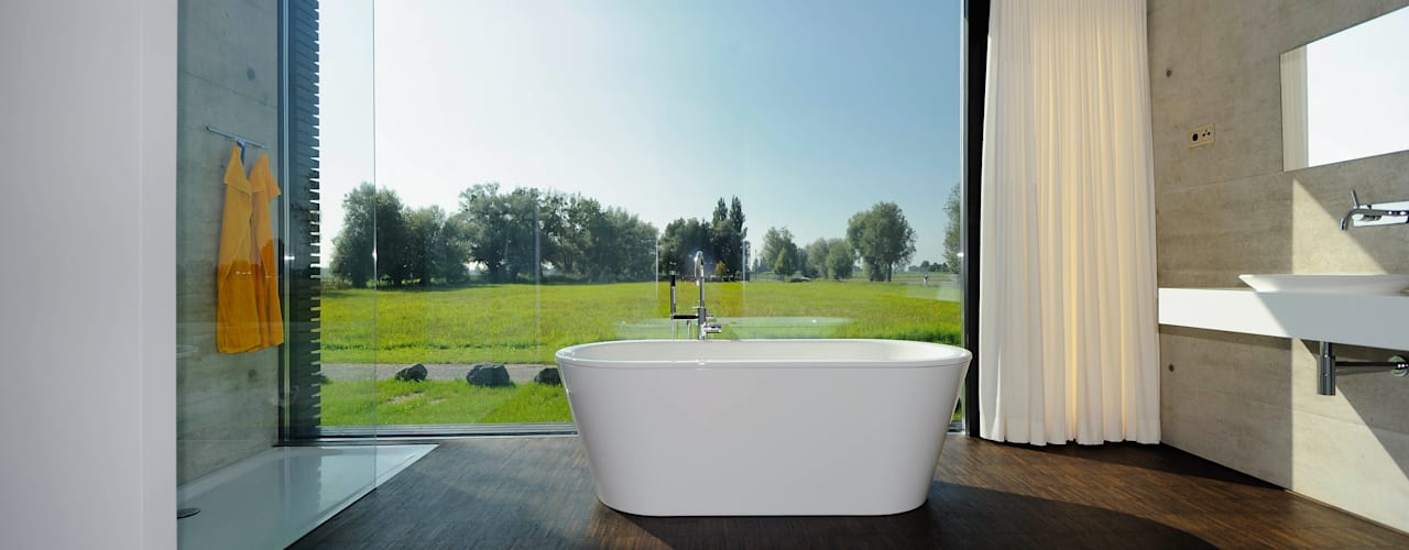 Baños de estilo moderno por schroetter-lenzi Architekten