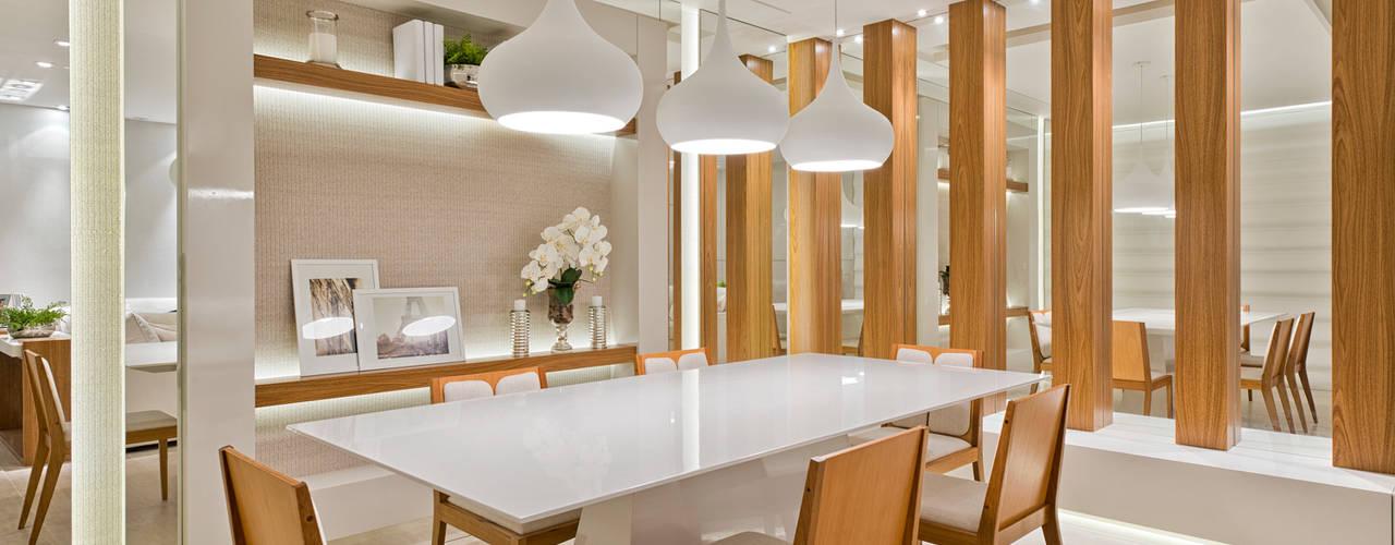 Comedores de estilo moderno de Rolim de Moura Arquitetura e Interiores Moderno