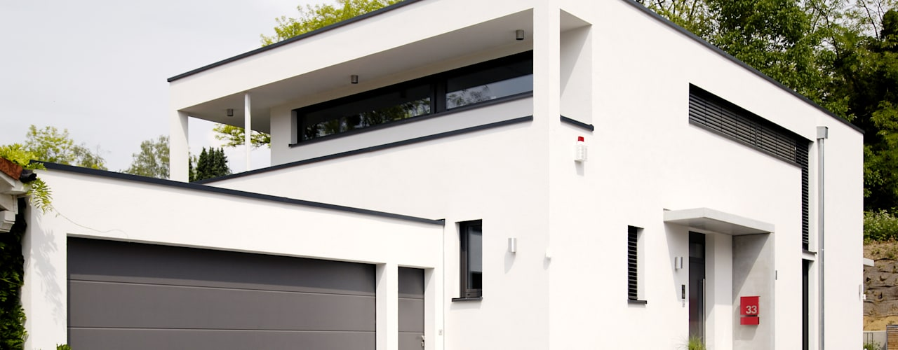 Maisons modernes par Ingenieurbüro für Planung und Projektmanagement Hangs Moderne