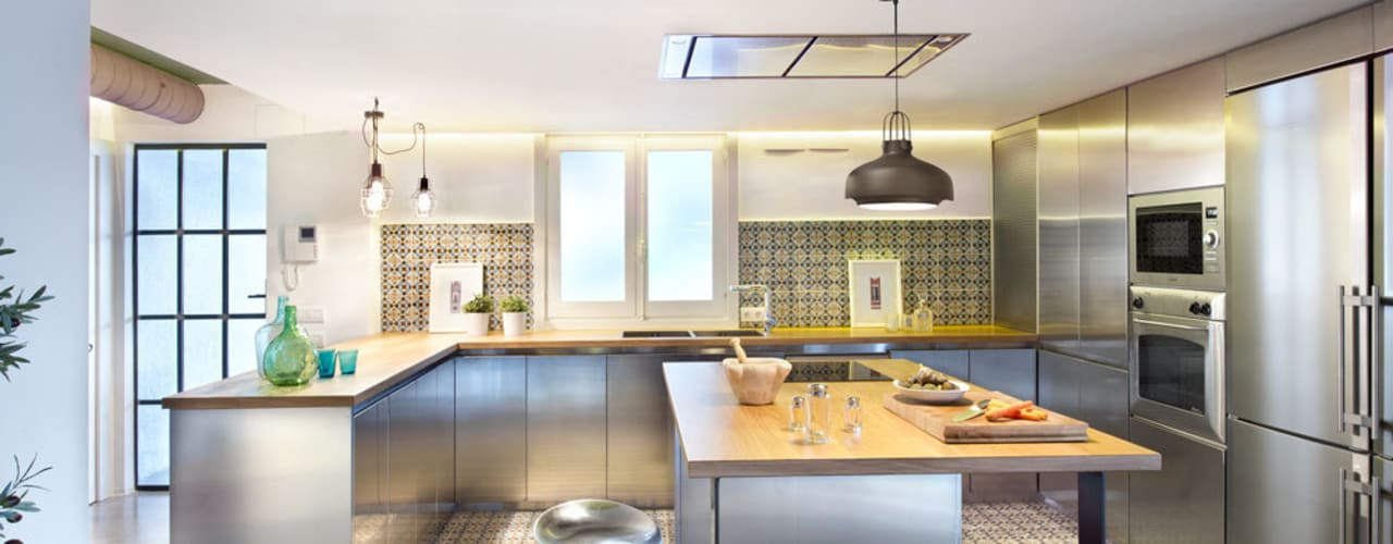 10 fotografías de cocinas modernas con isla ¡maravillosas!
