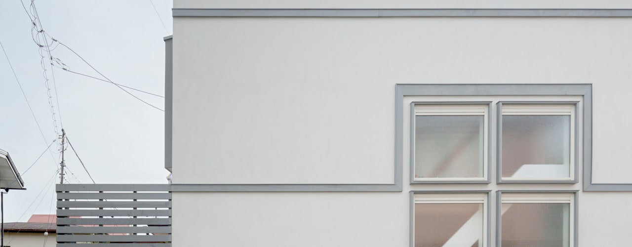 Rumah Gaya Skandinavia Oleh M設計工房 Skandinavia