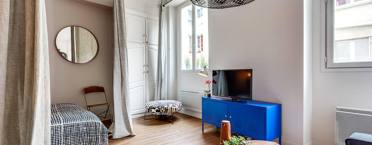 PARIS 4 30m2 Salon scandinave par blackStones Scandinave