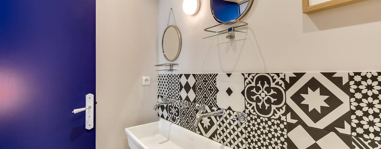 Scandinavian style bathroom by blackStones Scandinavian