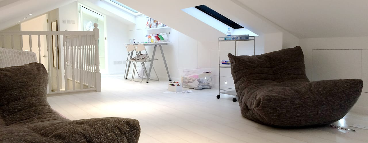 Loft Conversion in Highgate GK Architects Ltd Nursery/kid's roomAccessories & decoration