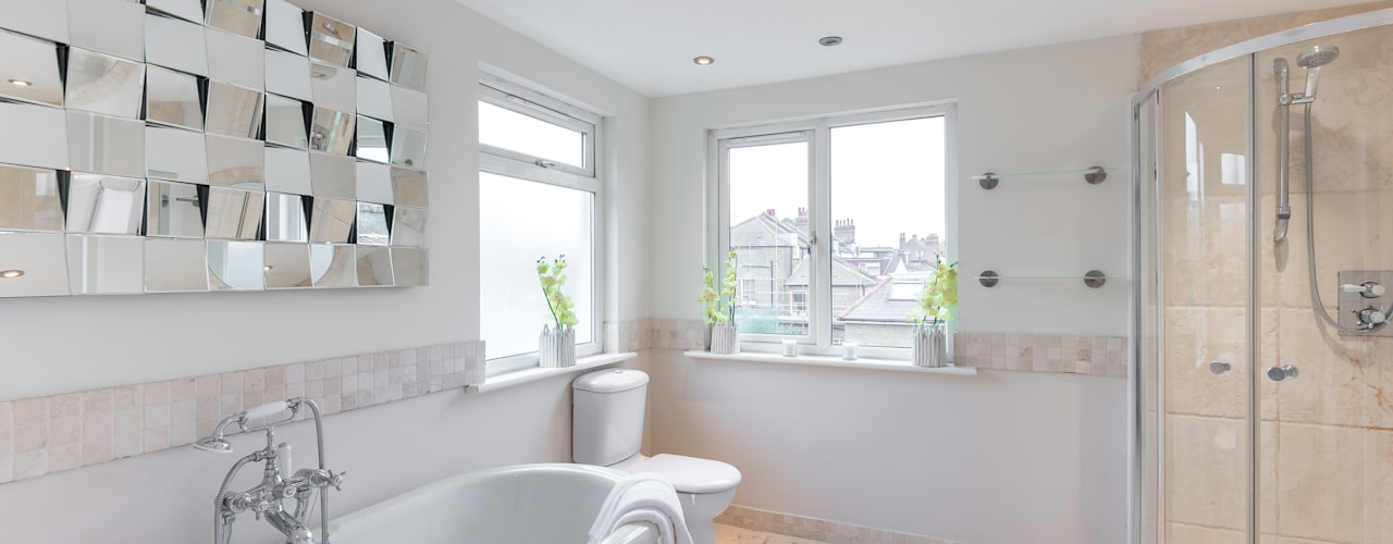 Home Staging : Grosvenor In:Style Direct Minimalist bathroom