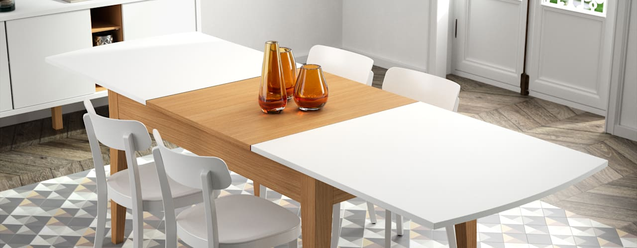 Niche Dining Table:   por Temahome